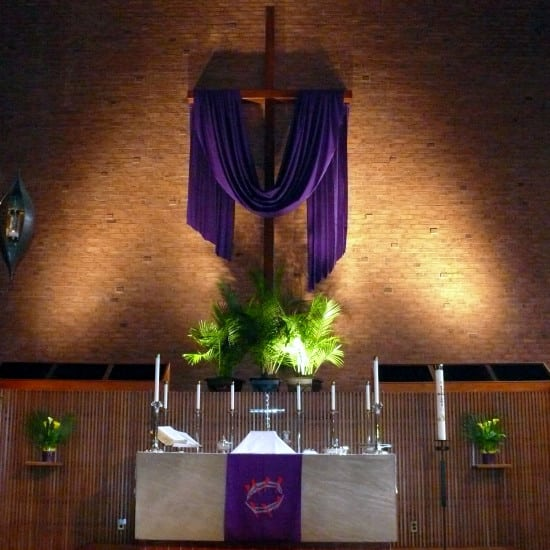 FLC Altar - Palm Sunday 2014
