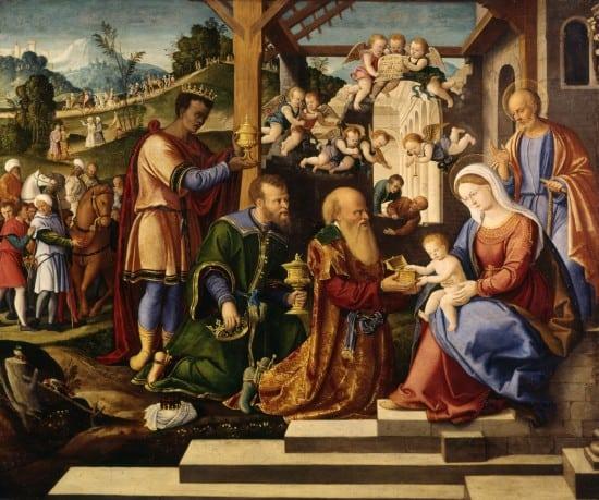 Girolamo_da_Santacroce_-_The_Adoration_of_the_Three_Kings_-_Walters_37261_(2)