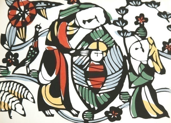 Sadao Watanabe, Christmas Cards, The Son of God