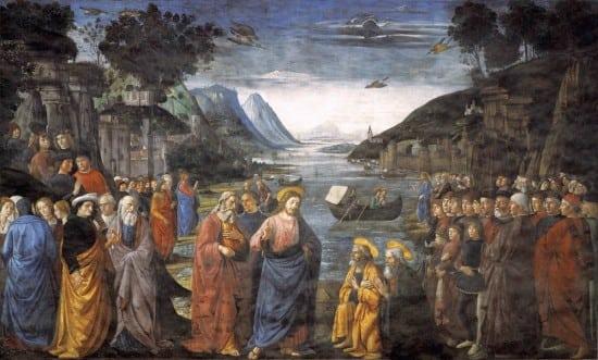 Ghirlandaio,_Domenico_-_Calling_of_the_Apostles_-_1481