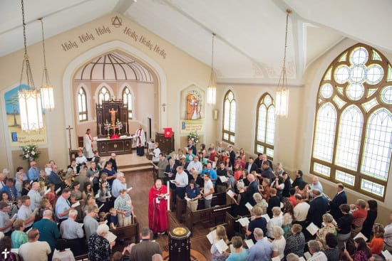 A Divine Service of Rededication at St. Paul Lutheran Church